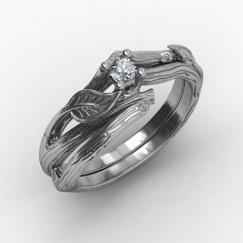 Punk Style Ring Wedding Ring Set Silver Punk Rings Jewelry for Women