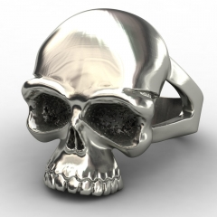 EVBEA Newest Skull Stainless Steel Skull Ring for Man Personality Biker Jewelry Wholesale Factory Price