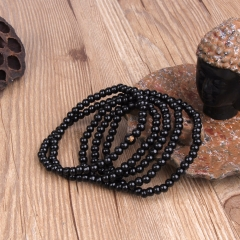 EVBEA Antique Jewelry Black Jujube Buddha Bracelet Yoga Wooden Beads Mala Charm Beads Bracelets For Men Women Jewelry Easter