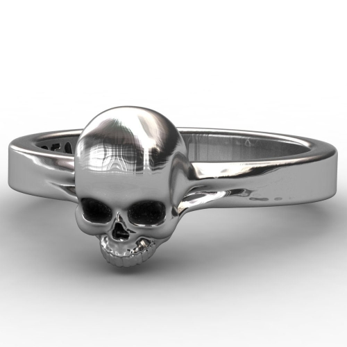 EVBEA Fashion Skull Biker Ring,Gothic Jewelry