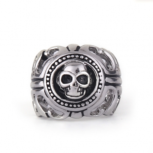 Men's Fashion Biker Skull ring Gothic&Punk Style Jewelry