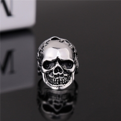 Men's Fashion Biker Skull Ring Gothic Style Jewelry