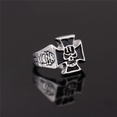 EVBEA Fashion Punk Skull Ring Gothic Style Jewelry