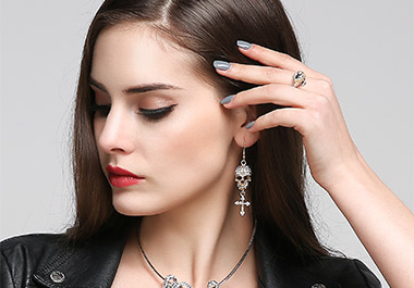 Women's Skull Jewelry Set